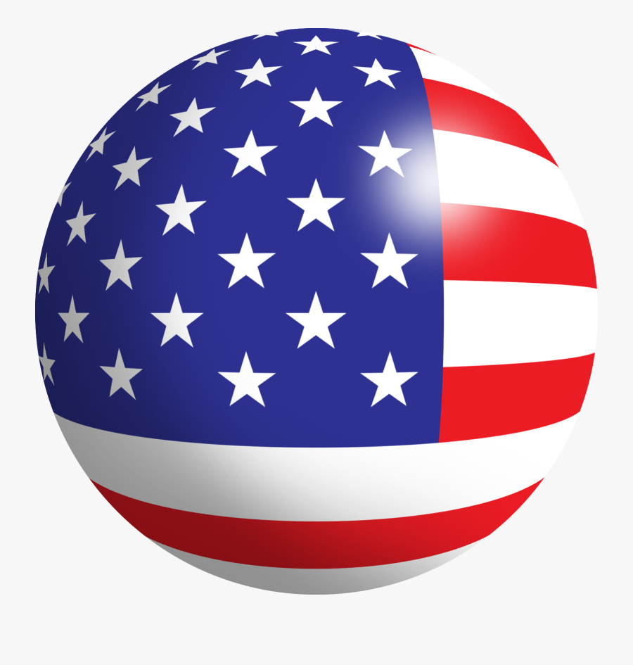 Real Estate Investment Clipart Veterans Day - United States Flag Icon, Transparent Clipart