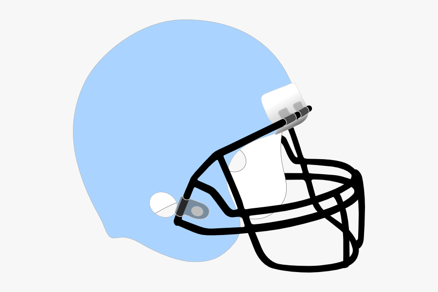 Light Blue Football Helmet Free Transparent Clipart Clipartkey