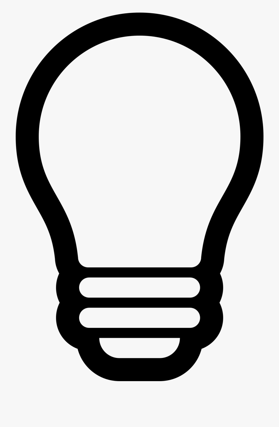 lightbulb clipart simple light bulb icon outline free transparent clipart clipartkey lightbulb clipart simple light bulb