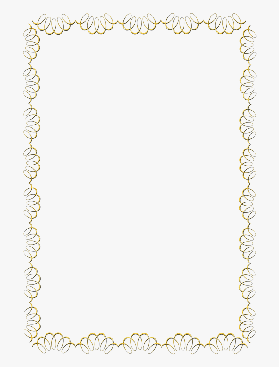 Borders Clipart Pearl - Lace Border Frame Png, Transparent Clipart