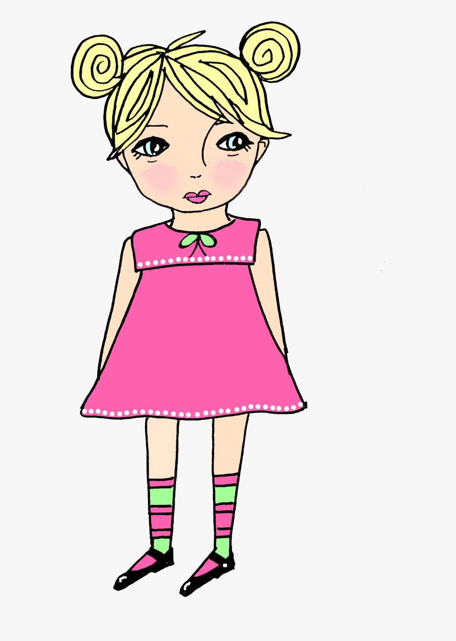 Cliparts A Girl Thinking, Transparent Clipart