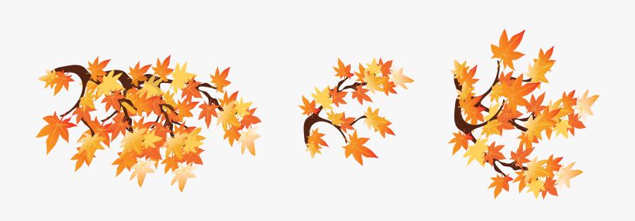 Fall Leaves Clipart Wallpaper - Fall Leaf Border Clipart, Transparent Clipart
