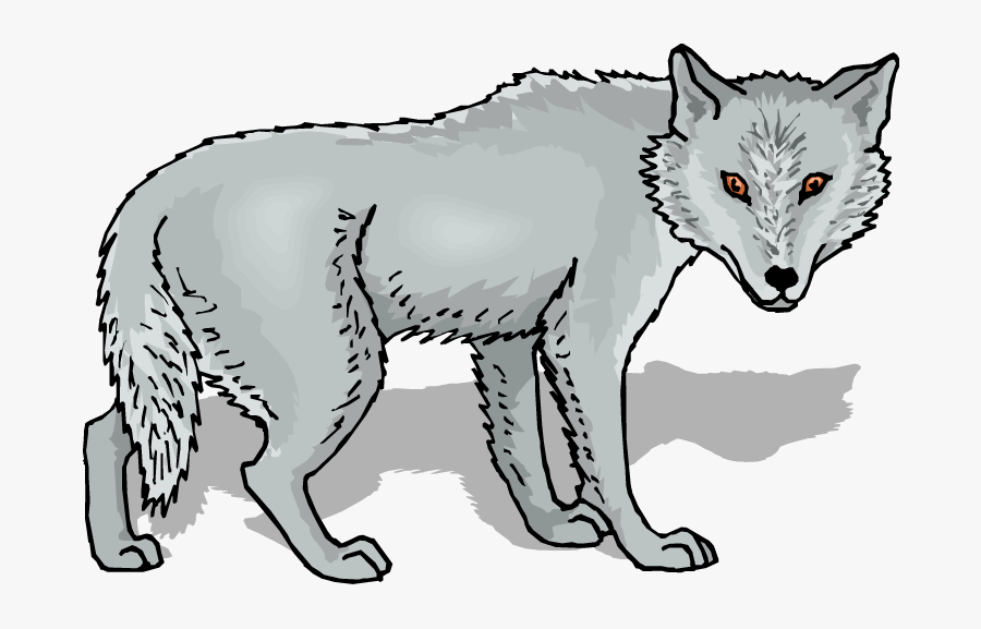 Gray Wolf Clip Art Free Clipart Images - Grey Wolf Clipart, Transparent Clipart