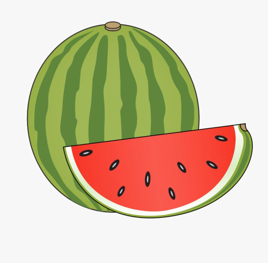 Watermelon - Watermelon Clipart, Transparent Clipart