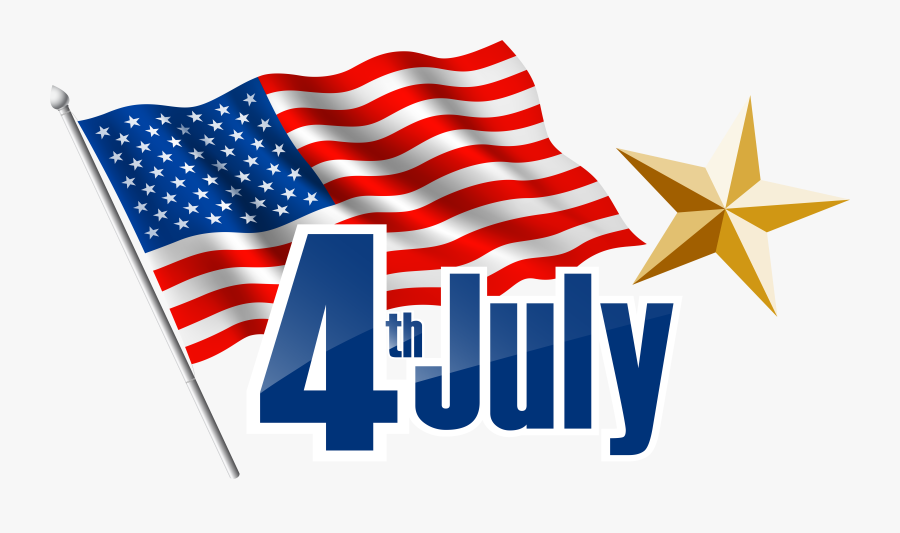 Flag Of The United States,flag,flag Day ,clip Art,independence - Happy 4th Of July 2019, Transparent Clipart