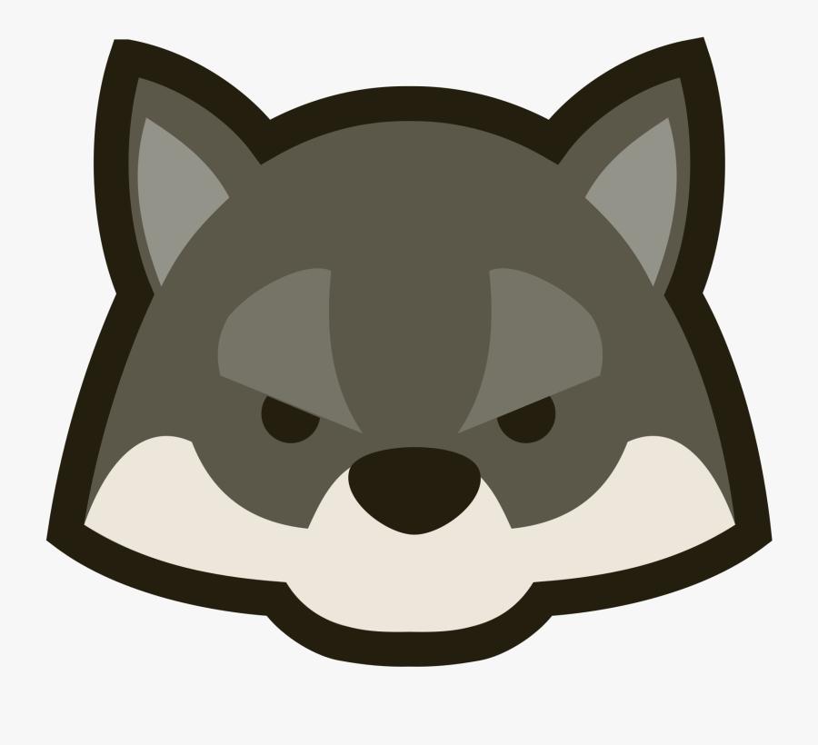 Clip Art Cute Wolf Clipart - Cute Cartoon Wolf Head , Free ... - photo#20