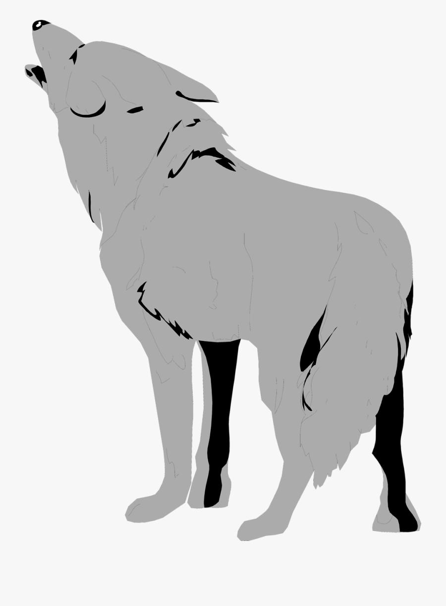 Transparent Wolf Clipart - Transparent Background Wolf Clip Art, Transparent Clipart