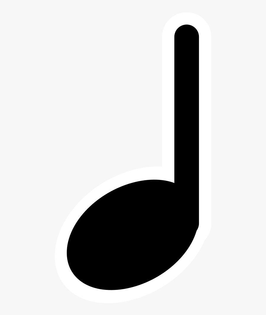 Music Clipart Quarter Note - Quarter Note Music Symbol ...