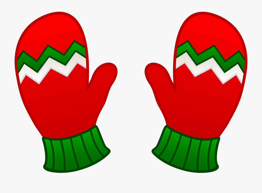 Gloves Snow Clipart - Winter Mittens Clipart Png, Transparent Clipart