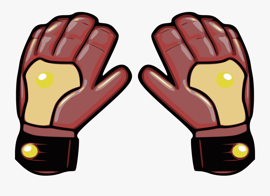 Soccer Goalie Glove,safety Glove,protective Gear In - Goalie Gloves Clip Art, Transparent Clipart