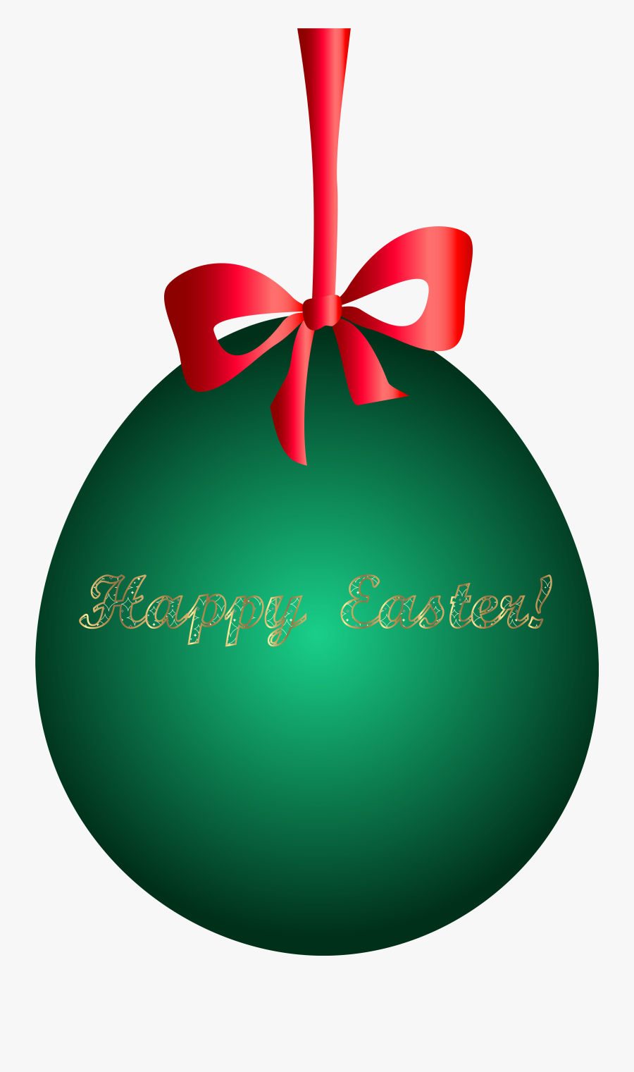 Egg Clipart Christmas - Happy Easter Egg Png, Transparent Clipart