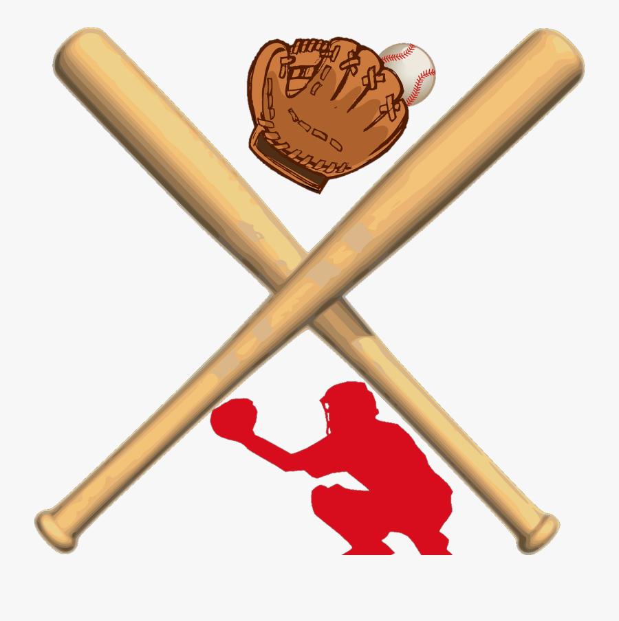 Transparent Baseball Glove Clipart - Baseball Bat Clipart Png, Transparent Clipart