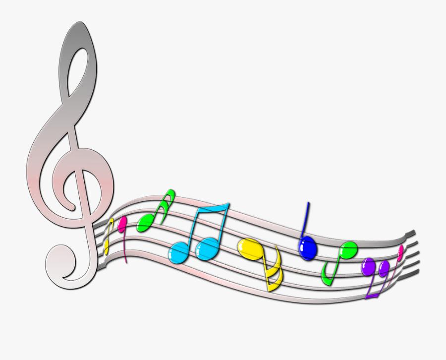 Transparent Music Clip Art - Clipart Music Treble Clef, Transparent Clipart