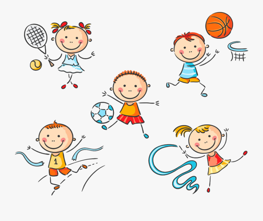 Kids Transparent Png Azpng - Kids Sports Clipart Png, Transparent Clipart
