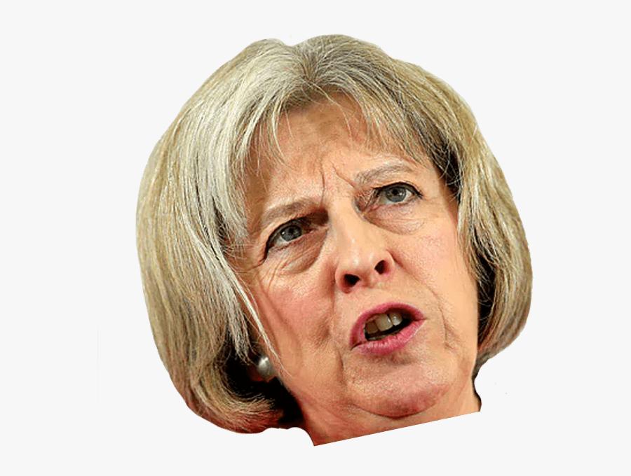 Theresa May Face - Theresa May No Background, Transparent Clipart