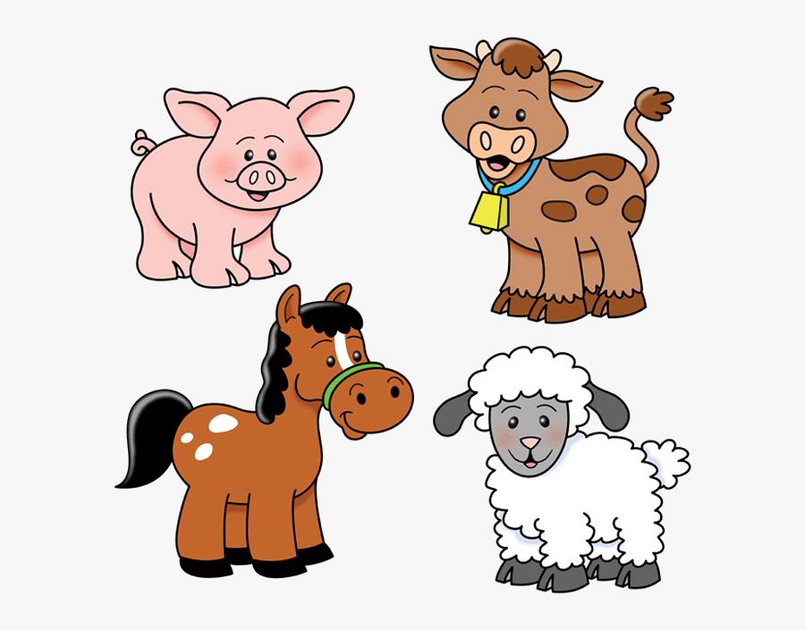 Animal Farm Animals Clipart Transparent Png - Farm Animals Images Clipart, Transparent Clipart