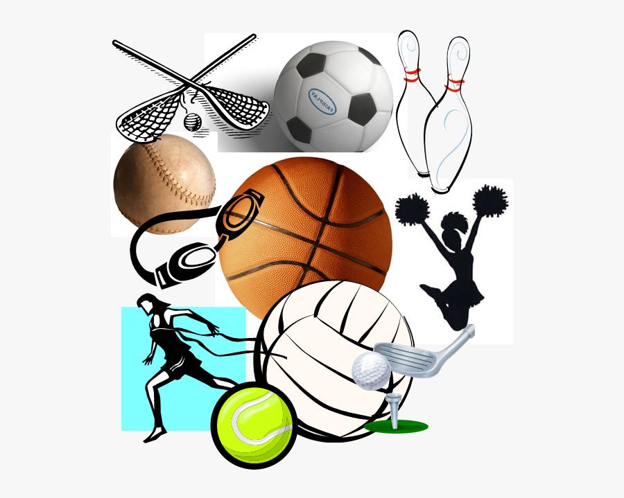 School Sports Clipart - High School Sports Graphic, Transparent Clipart