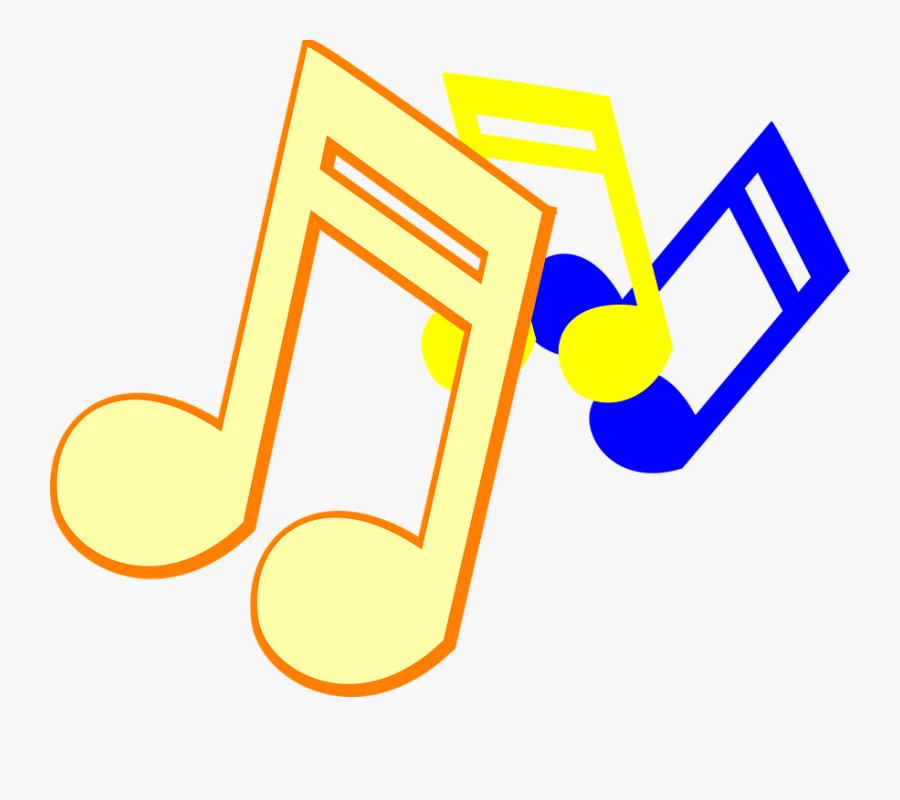 Transparent Music Notes Clip Art Png - Music Notes Clip Art, Transparent Clipart