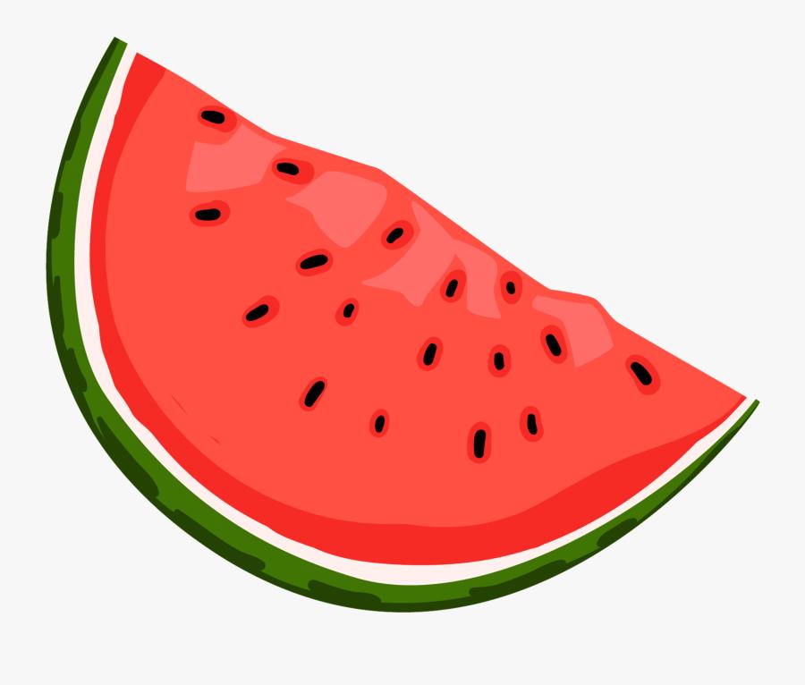 Watermelon Fruit Vector Png - Frutas Dibujos Png, Transparent Clipart