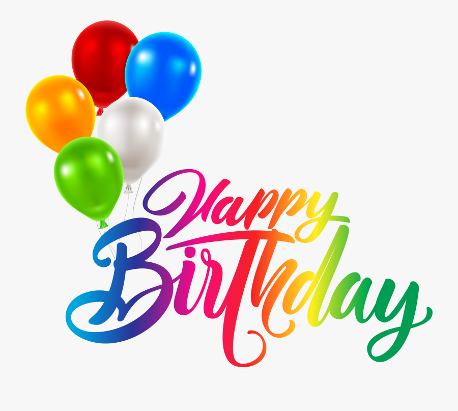 Transparent Birthday Clip Art - Transparent Happy Birthday Png, Transparent Clipart