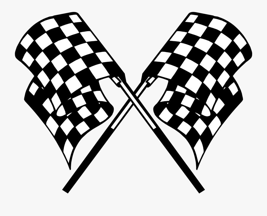Racing Flag Racing Checkered Flag Clip Art Flags Vinyl - Racing Flag Transparent Background, Transparent Clipart