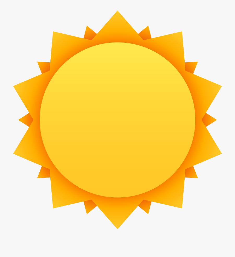 Sun Clipart Circle - Banner Circle Orange Png, Transparent Clipart