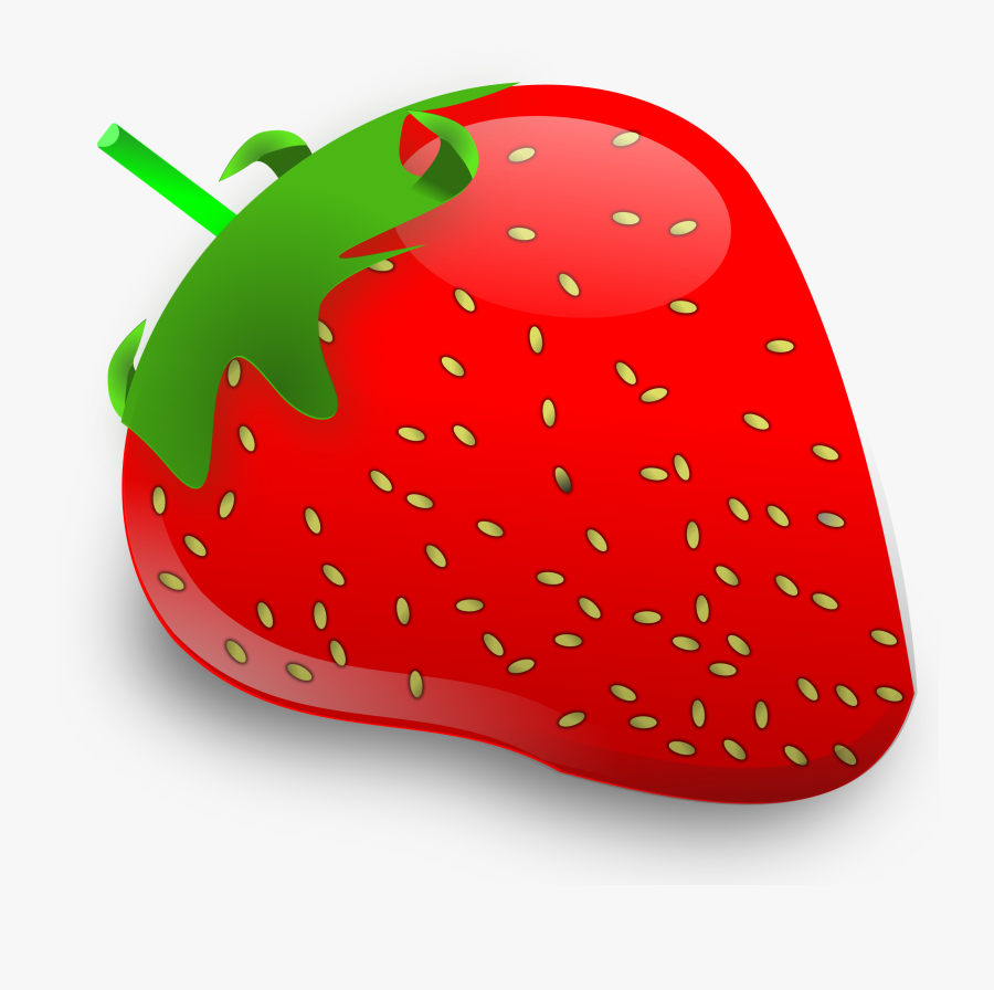 Free Strawberry Clipart - Strawberry Fruit Clip Art, Transparent Clipart