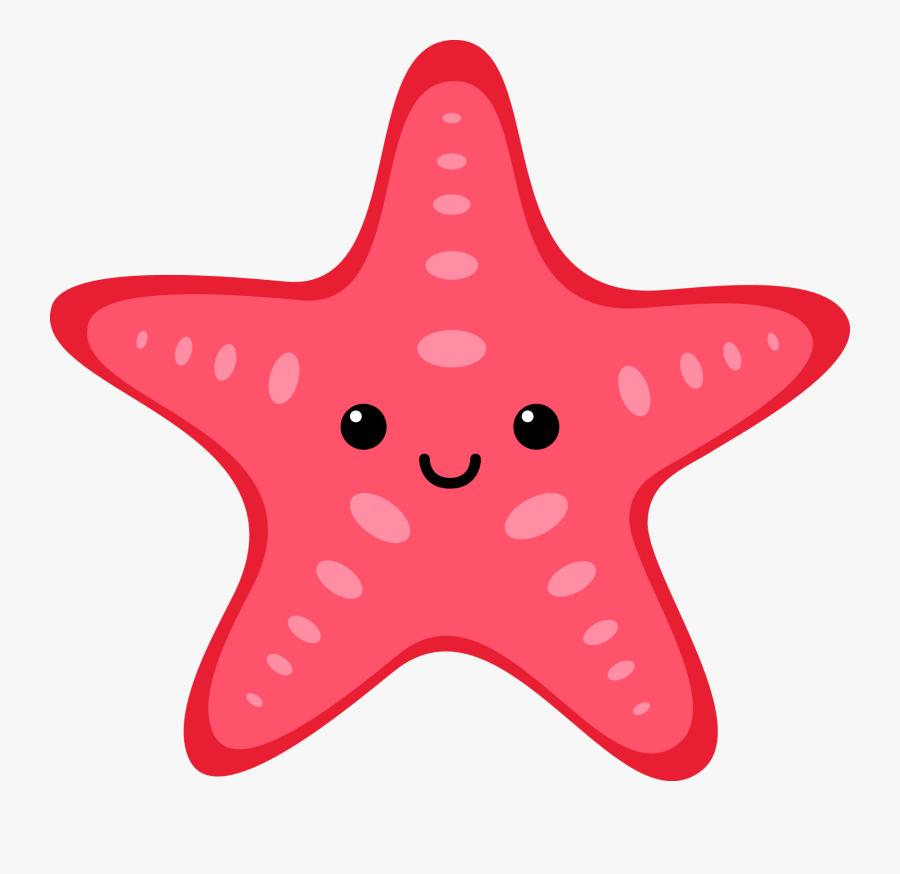 Pin Starfish Clipart Sea Life - Transparent Background Sea Creatures Clipart, Transparent Clipart
