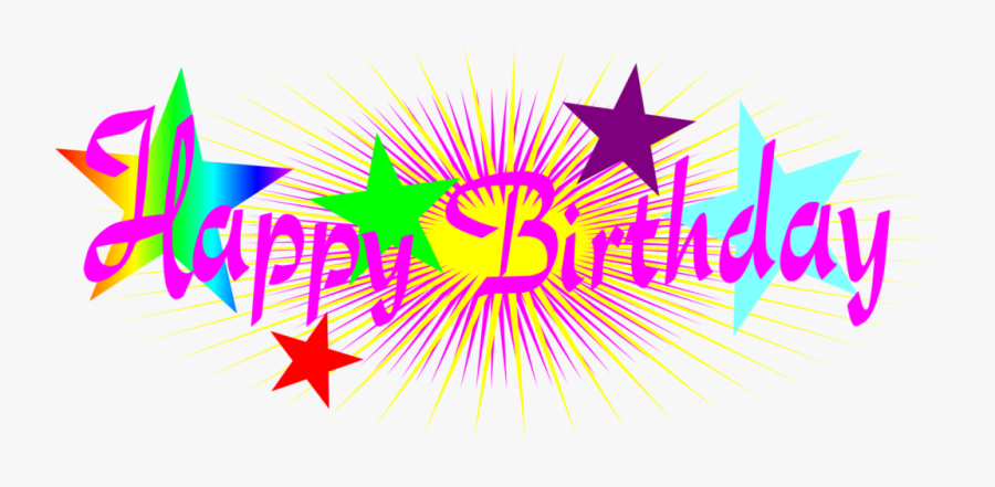 Free Animated Happy Anniversary Clip Art - Happy Birthday Png Text, Transparent Clipart