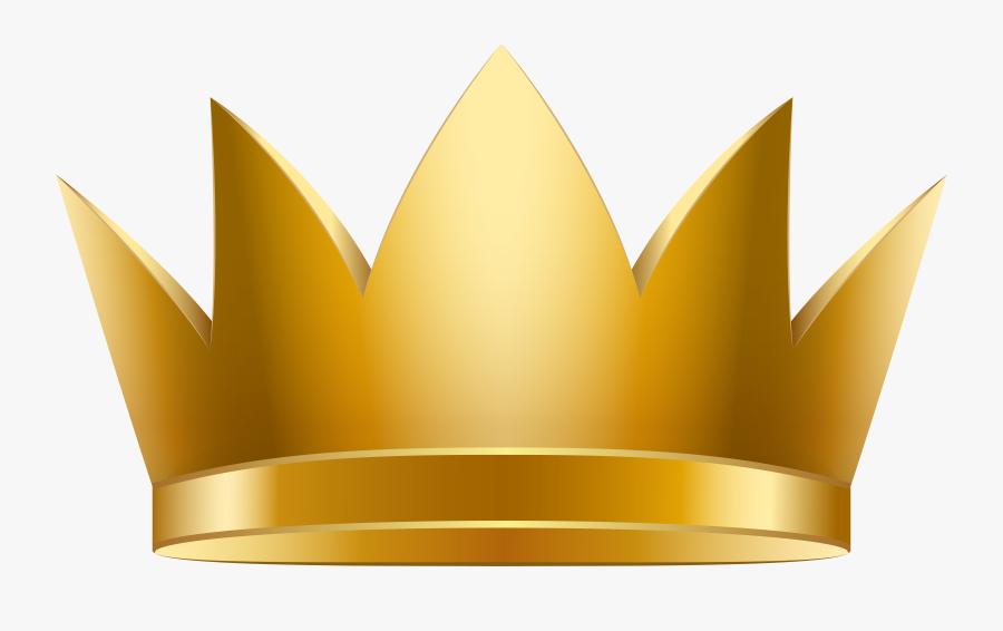 Golden Clip Art Image - Clipart Golden Crown Png, Transparent Clipart