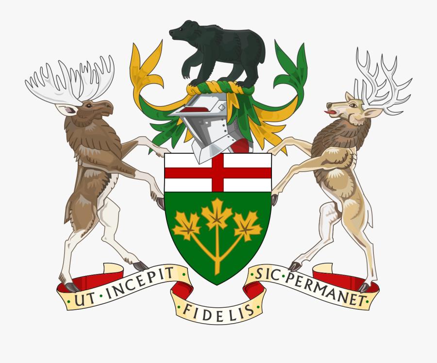 Transparent Farm Animals Clipart Png - Armoirie De L Ontario, Transparent Clipart