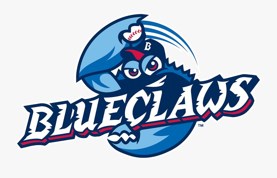 Blue Crabs Sports Logo, Transparent Clipart