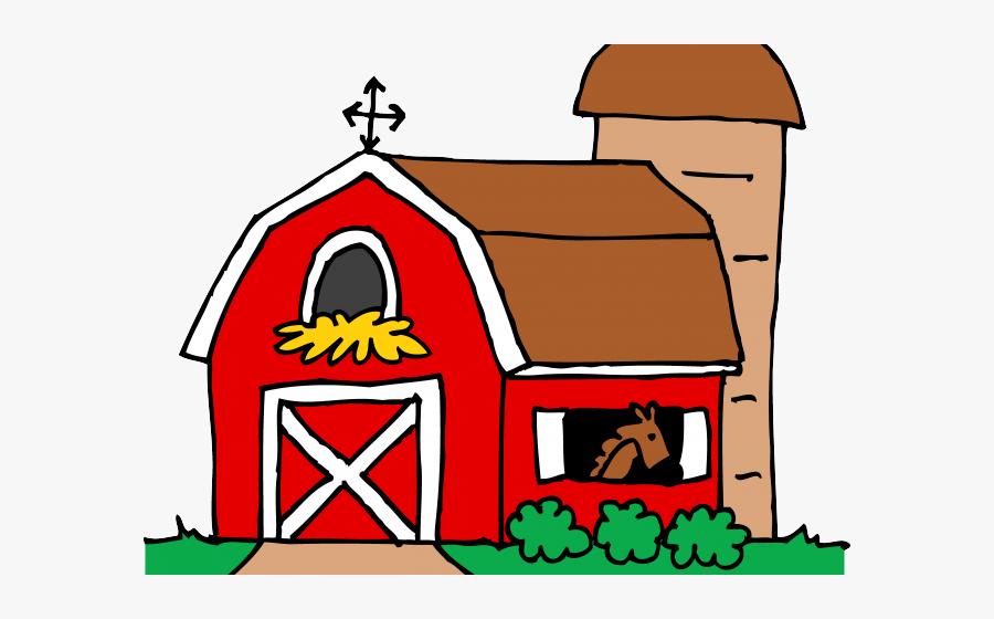 Farm Transparent Clip Art Picture Free Download - Farm Barn Clip Art Black And White, Transparent Clipart