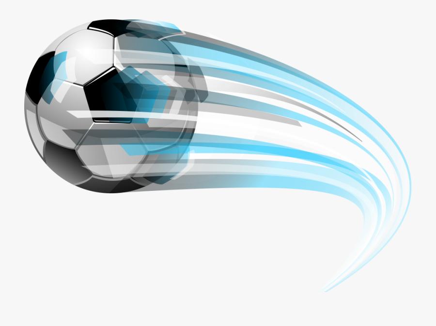 Flying Shin Football Guard Vector Sport Clipart - Football Flying, Transparent Clipart