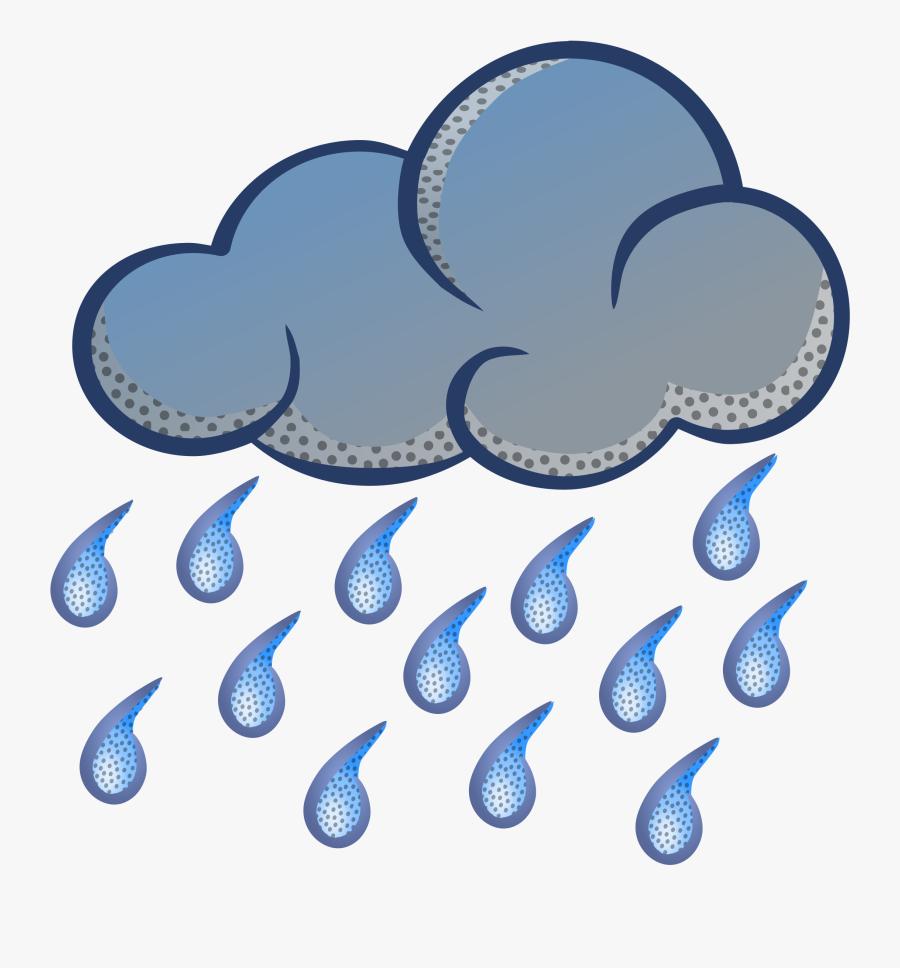Rain Clipart Png - Transparent Background Rain Clip Art, Transparent Clipart