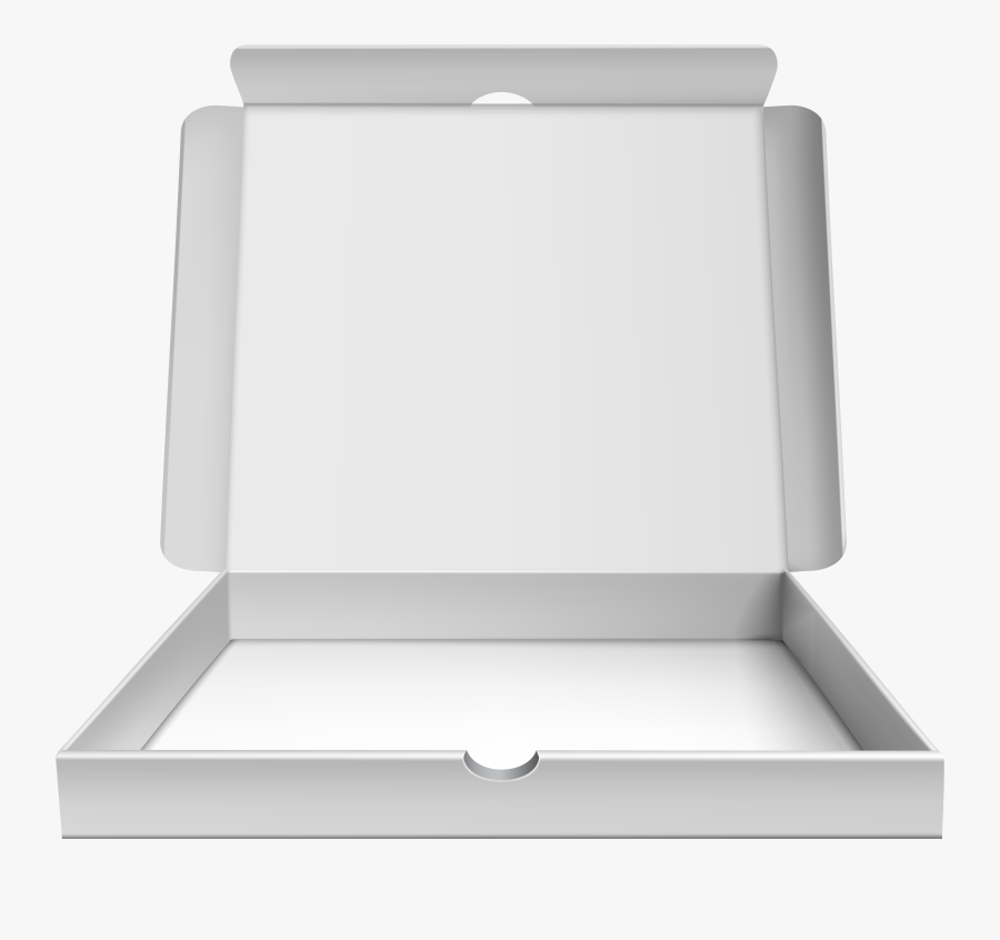 Open Pizza Box Png Clip Art, Transparent Clipart