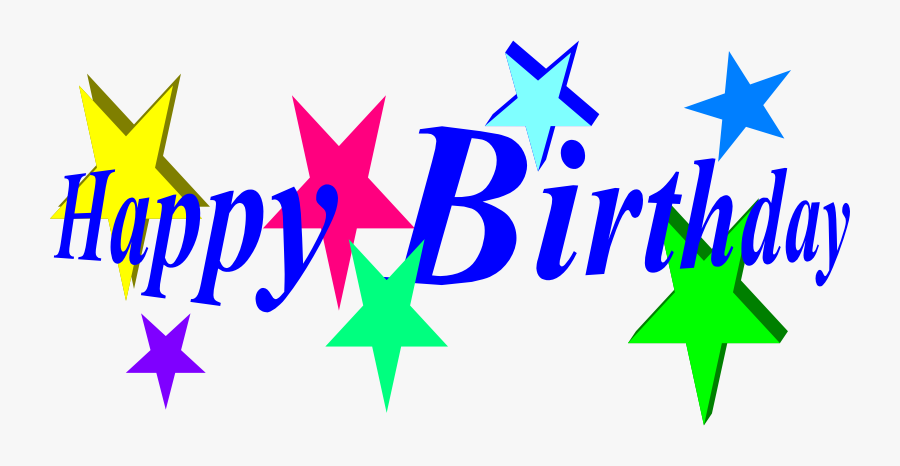 Clip Art Clip Black And - Grown Up Happy Birthday, Transparent Clipart