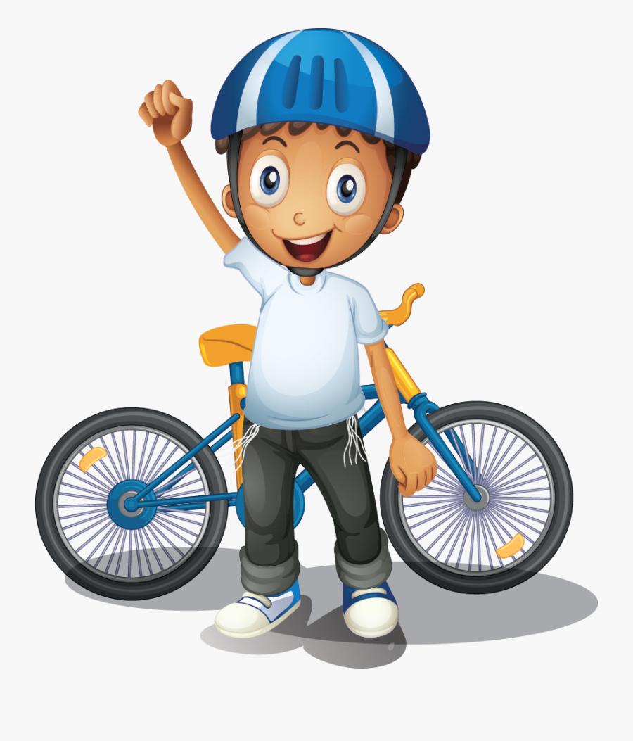 Bike Clipart Thon - Boy Bike Clipart Png, Transparent Clipart