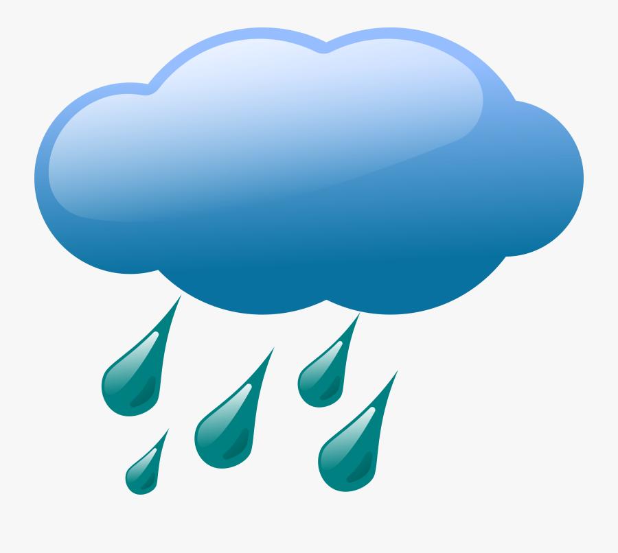 Thumb Image - Rain Weather Symbols, Transparent Clipart