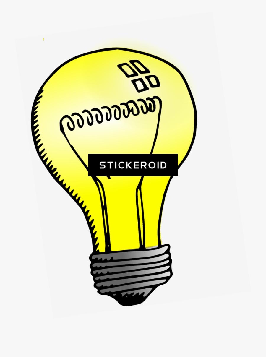 Transparent Light Streak Png - Light Bulb Clip Art, Transparent Clipart