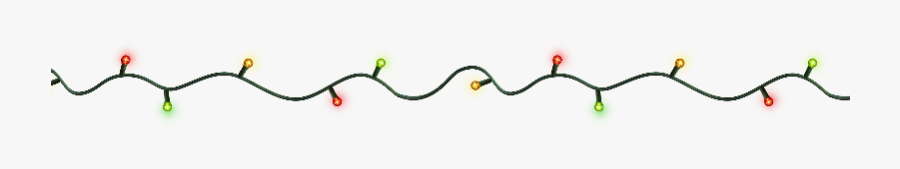 Christmas Light String Png - Parallel, Transparent Clipart