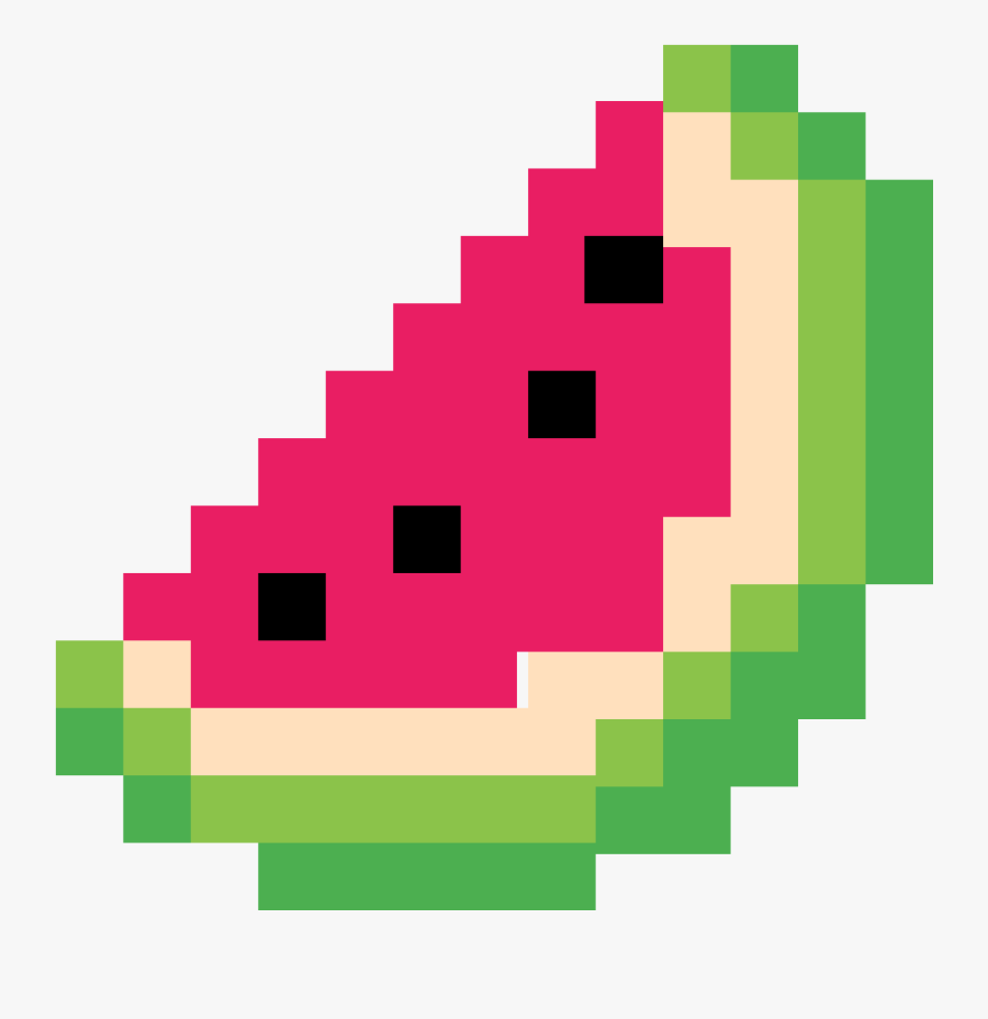 Minecraft Clipart Png Download Watermelon Pixel Art
