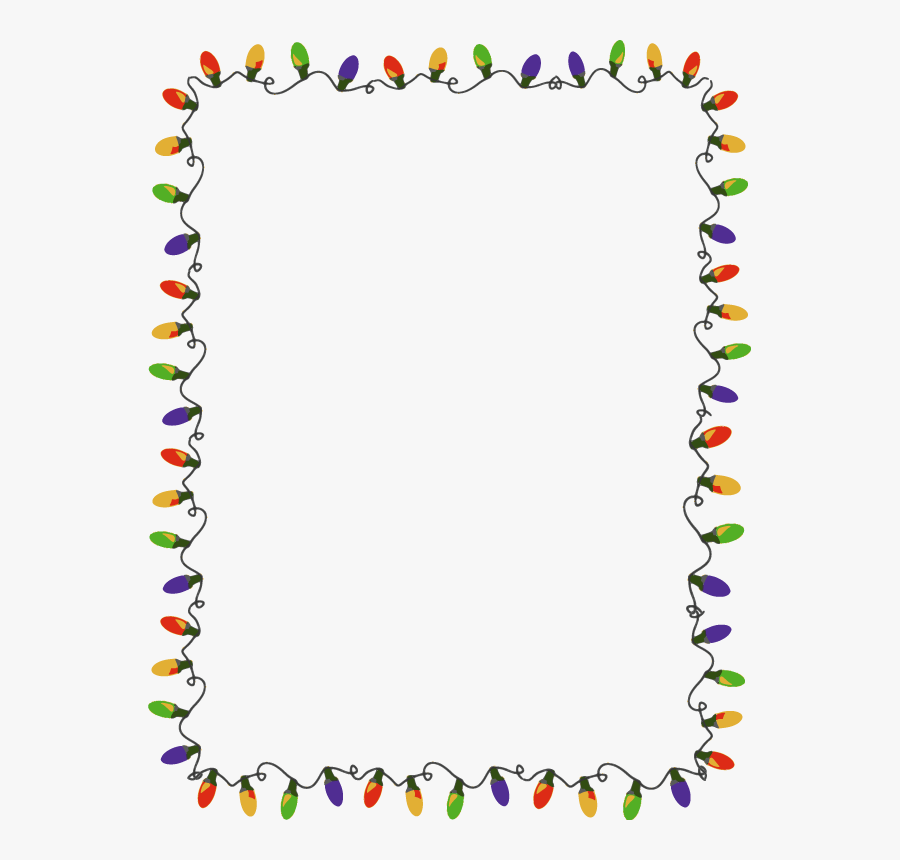 Clip Art Free Christmas Chevron Cliparts - Christmas Lights Border Png, Transparent Clipart