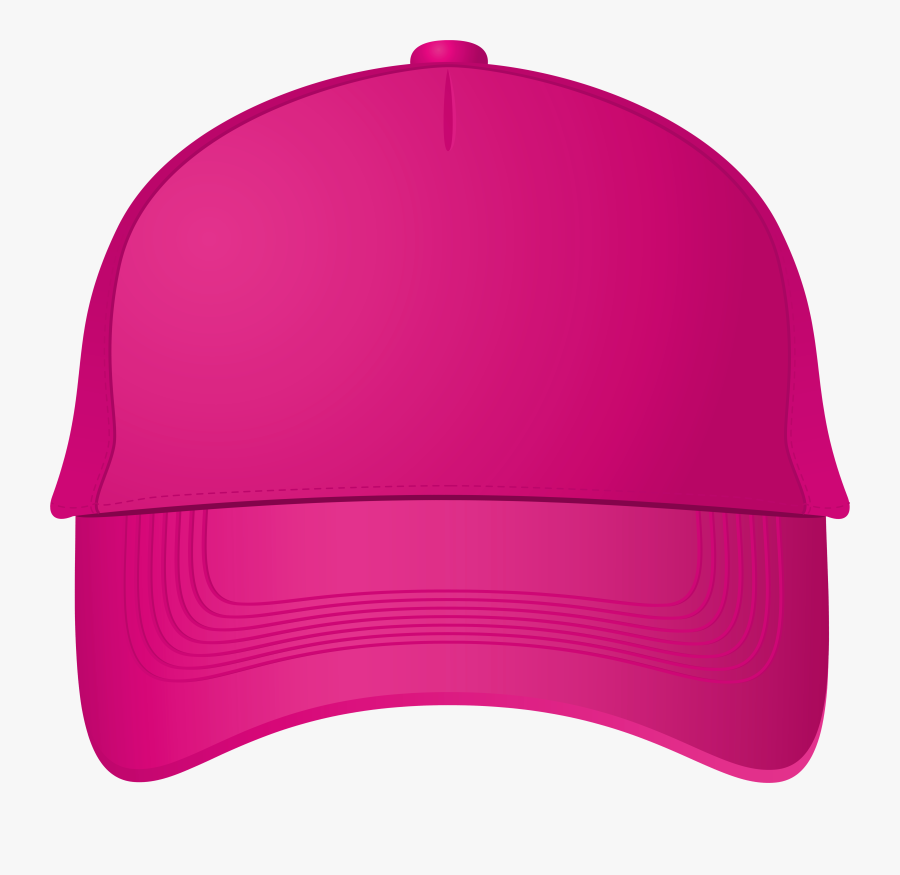Pink Baseball Cap Png Clipart - Pink Baseball Cap Png, Transparent Clipart