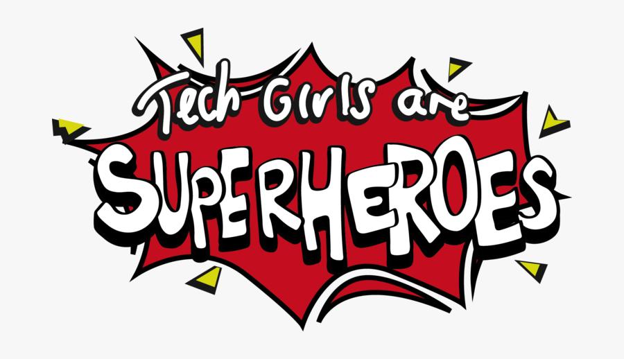 3 Unstoppable Women In Tech - Next Tech Girl Superhero, Transparent Clipart