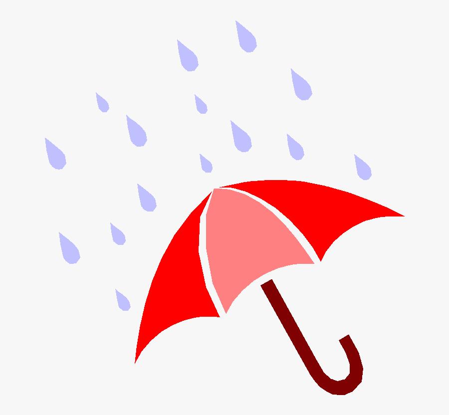 Clipart Umbrella With Rain Drops - Rain Umbrella Clip Art, Transparent Clipart