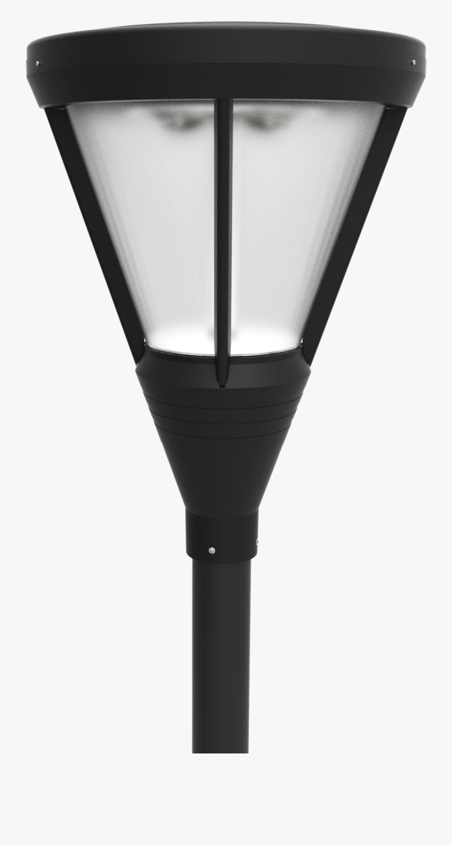 Street Lamp Paintings Of Light Bulb Clip Art - Led Post Top Area Light, Transparent Clipart