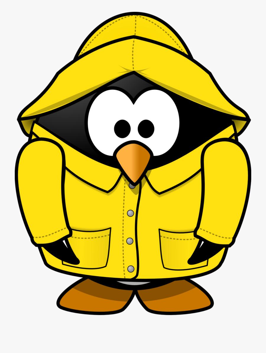 Public Domain Clip Art Image - Rain Jacket Clip Art, Transparent Clipart