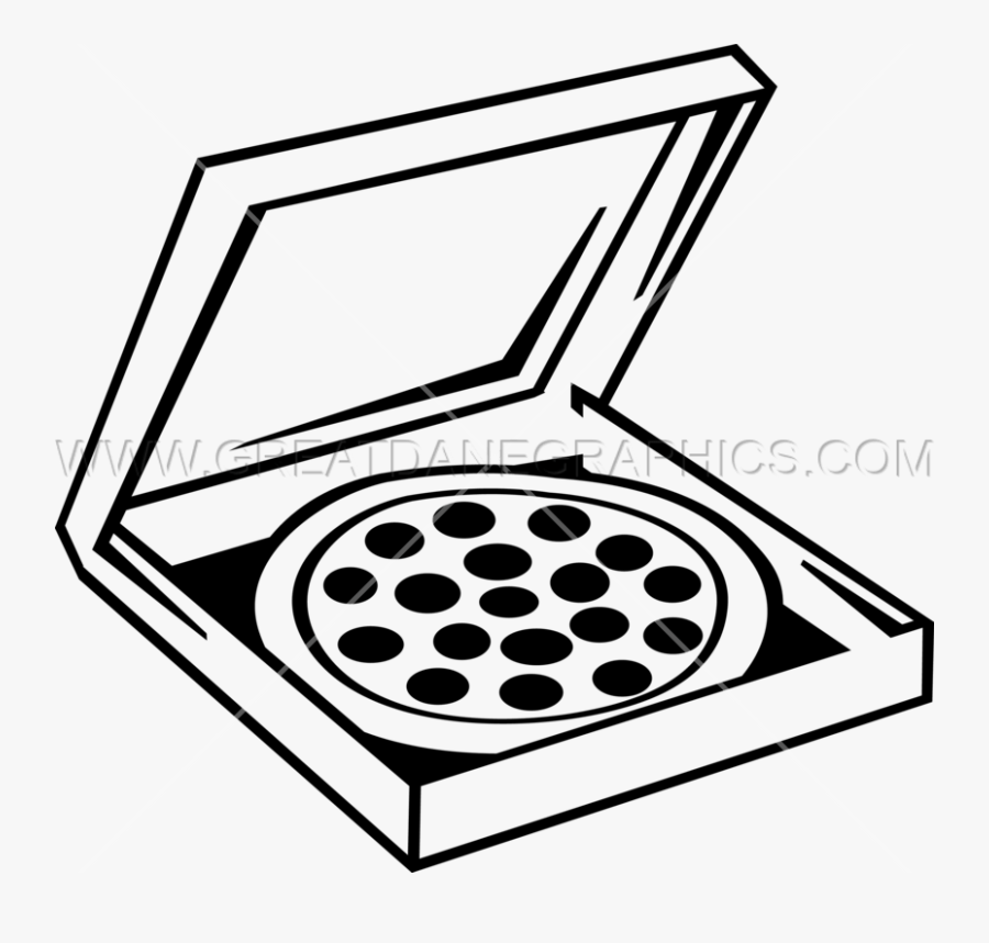 Pizza Box Clipart - Pizza Box Drawing Easy, Transparent Clipart
