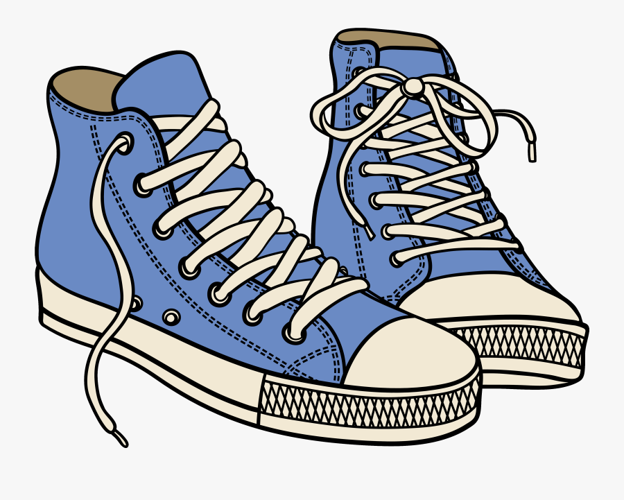 Clipart Sneakers Transparent - Shoes And Boots Clipart, Transparent Clipart